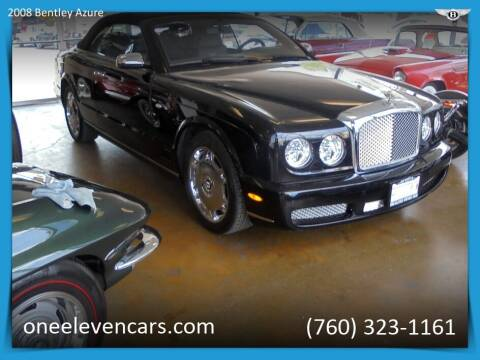 2008 Bentley Azure for sale at One Eleven Vintage Cars in Palm Springs CA