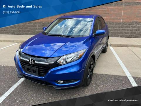 2018 Honda HR-V for sale at KI Auto Body and Sales in Lino Lakes MN
