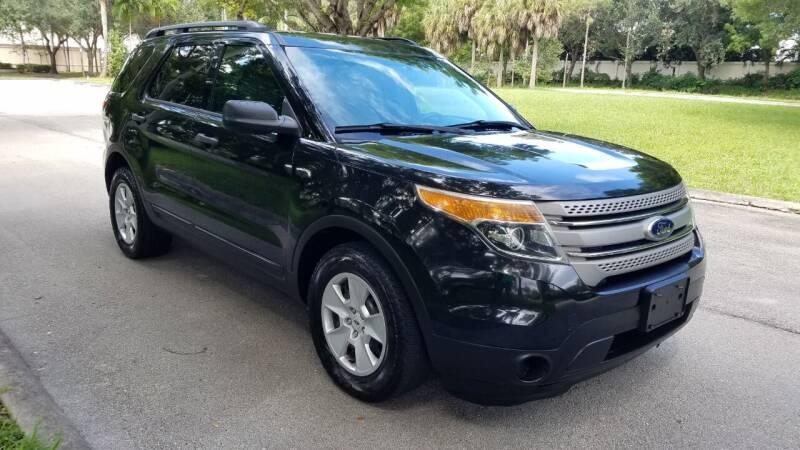 2014 Ford Explorer for sale at DELRAY AUTO MALL in Delray Beach FL