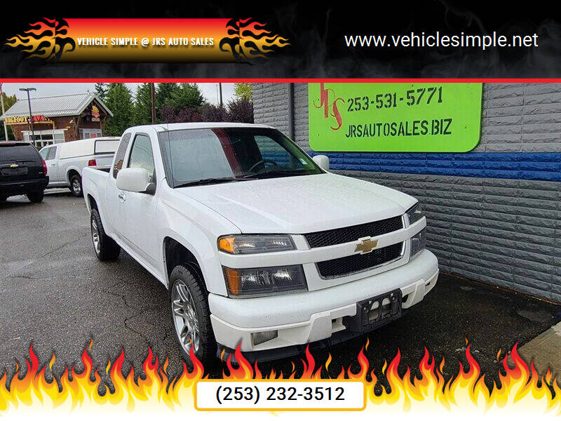 2012 Chevrolet Colorado for sale at Vehicle Simple @ JRS Auto Sales in Parkland WA