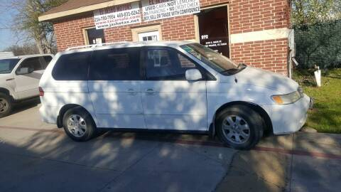 2003 Honda Odyssey for sale at El Jasho Motors in Grand Prairie TX