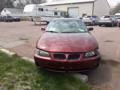 2004 Pontiac Grand Prix for sale at ZITTERICH AUTO SALE'S in Sioux Falls SD