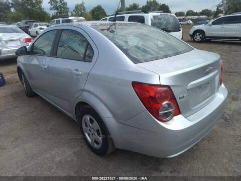 2014 Chevrolet Sonic for sale at Yousif & Sons Used Auto in Detroit MI
