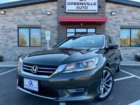 2013 Honda Accord for sale at GREENVILLE AUTO & RV in Greenville WI
