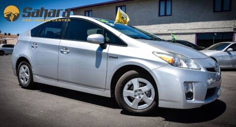 2010 Toyota Prius for sale at Sahara Pre-Owned Center in Phoenix AZ