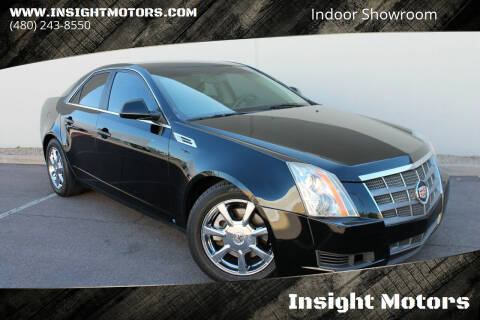 2008 Cadillac CTS for sale at Insight Motors in Tempe AZ
