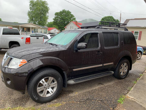 2012 Nissan Pathfinder for sale at MYERS PRE OWNED AUTOS & POWERSPORTS in Paden City WV