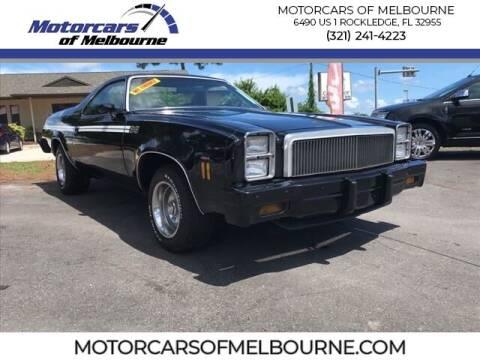 1977 Chevrolet El Camino for sale at Motorcars of Melbourne in Rockledge FL