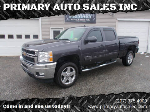2011 Chevrolet Silverado 2500HD for sale at PRIMARY AUTO SALES INC in Sabattus ME