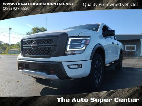 2021 Nissan Titan for sale at The Auto Super Center in Centre AL