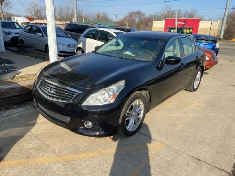 2012 Infiniti G37 Sedan for sale at 3M AUTO GROUP in Elkhart IN