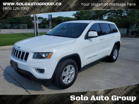 2015 Jeep Grand Cherokee for sale at Solo Auto Group in Mckinney TX
