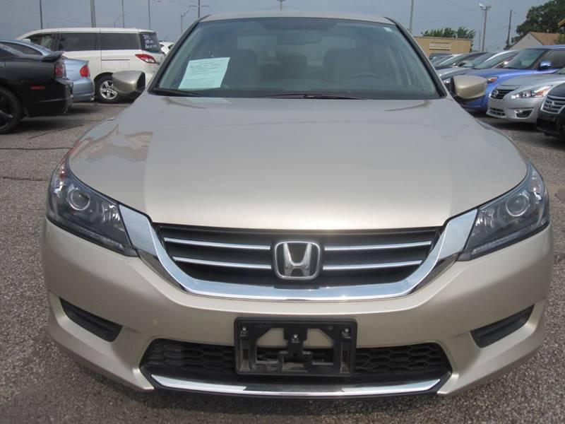 2014 Honda Accord for sale at T & D Motor Company in Bethany OK