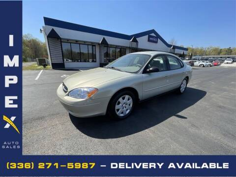 2003 Ford Taurus for sale at Impex Auto Sales in Greensboro NC