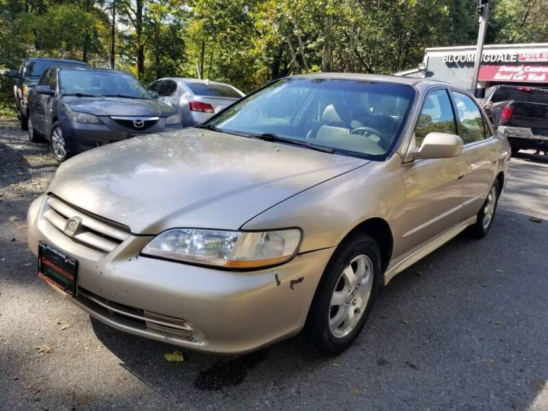 2002 Honda Accord for sale at The Car House in Butler NJ