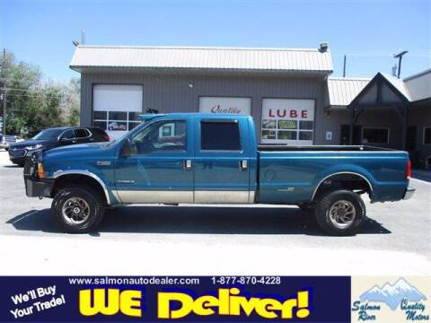 2000 Ford F-350 Super Duty for sale at QUALITY MOTORS in Salmon ID