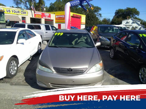 2004 Toyota Camry for sale at Marino's Auto Sales in Laurel DE