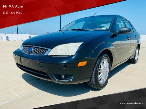 2006 Ford Focus for sale at Mr VA Auto in Chesapeake VA