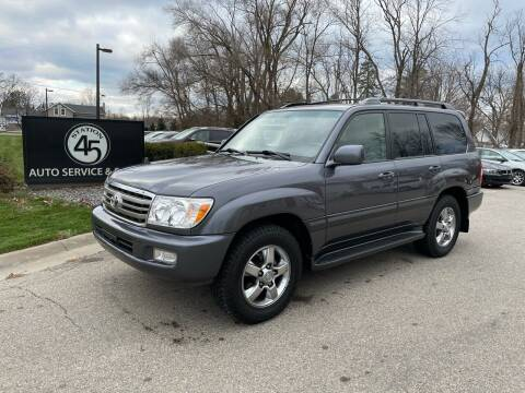 2007 Toyota Land Cruiser for sale at Station 45 Auto Sales Inc in Allendale MI