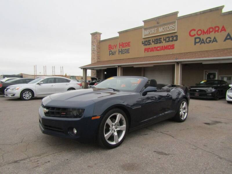 2011 Chevrolet Camaro for sale at Import Motors in Bethany OK