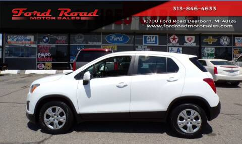 2016 Chevrolet Trax for sale at Ford Road Motor Sales in Dearborn MI