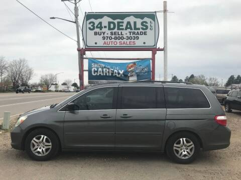 2007 Honda Odyssey for sale at 34 Deals LLC in Loveland CO