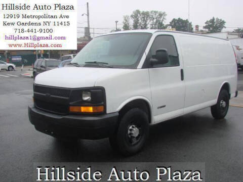 2006 Chevrolet Express Cargo for sale at Hillside Auto Plaza in Kew Gardens NY