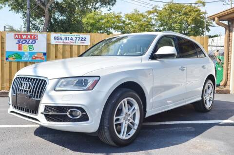 2016 Audi Q5 for sale at ALWAYSSOLD123 INC in Fort Lauderdale FL