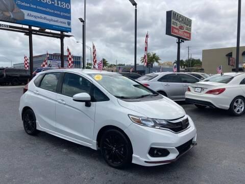 2019 Honda Fit for sale at MACHADO AUTO SALES in Miami FL