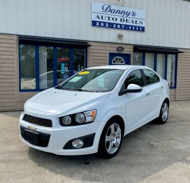 2015 Chevrolet Sonic for sale at Danny's Auto Deals in Grafton WI