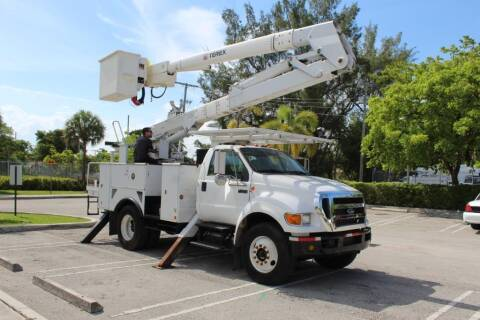 2010 Ford F-750 Super Duty for sale at Truck and Van Outlet in Miami FL