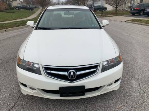 2008 Acura TSX for sale at Via Roma Auto Sales in Columbus OH
