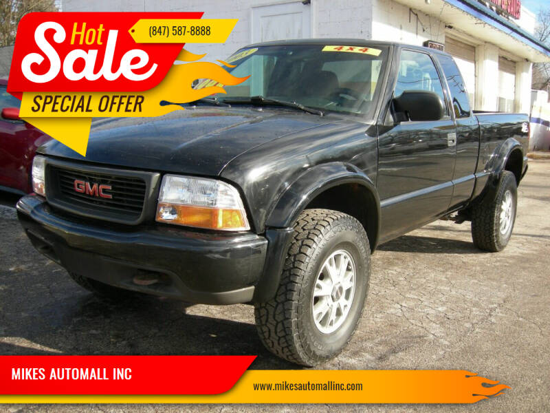 2003 GMC Sonoma for sale at MIKES AUTOMALL INC in Ingleside IL