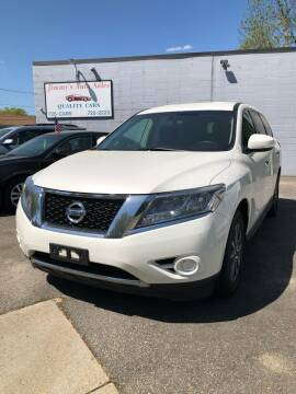 2013 Nissan Pathfinder for sale at Jimmys Auto Sales in North Providence RI