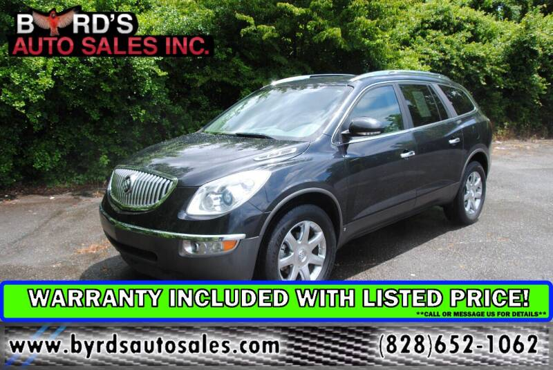 2010 Buick Enclave for sale at Byrds Auto Sales in Marion NC