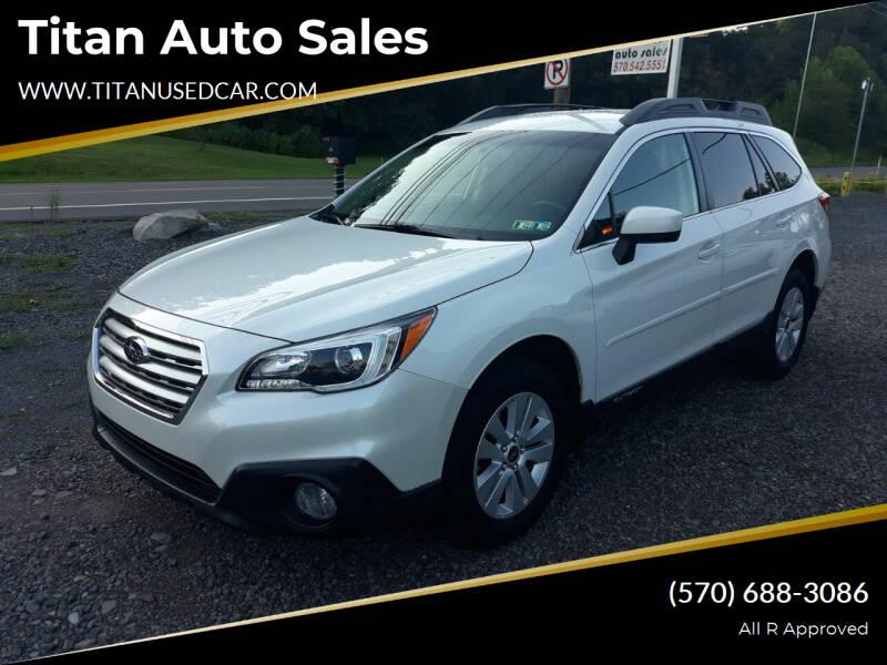 2017 Subaru Outback for sale at Titan Auto Sales in Berwick PA