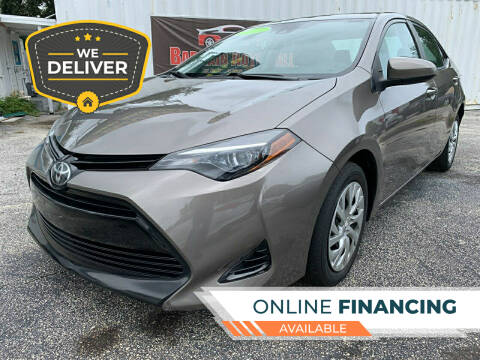 2018 Toyota Corolla for sale at Bargain Auto Sales in West Palm Beach FL