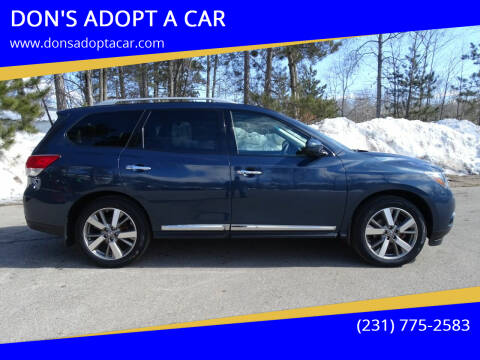2014 Nissan Pathfinder for sale at DON'S ADOPT A CAR in Cadillac MI