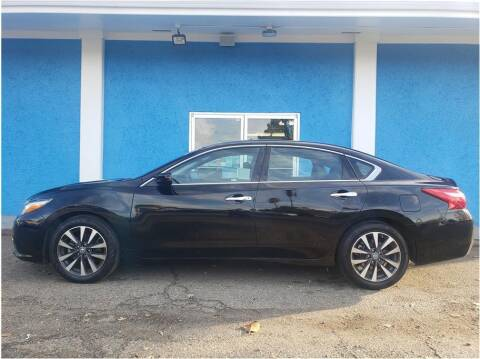 2017 Nissan Altima for sale at Khodas Cars in Gilroy CA
