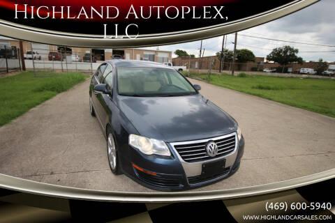 2008 Volkswagen Passat for sale at Highland Autoplex, LLC in Dallas TX