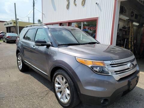 2013 Ford Explorer for sale at J & J Used Cars inc in Wayne MI