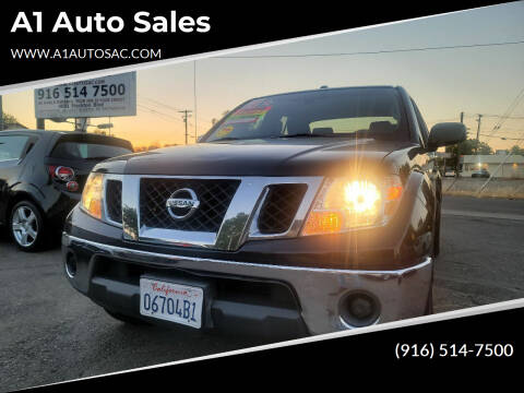 2011 Nissan Frontier for sale at A1 Auto Sales in Sacramento CA