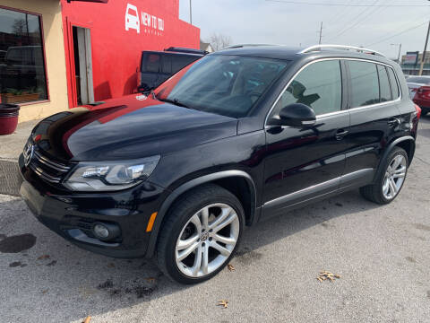 2012 Volkswagen Tiguan for sale at New To You Motors in Tulsa OK