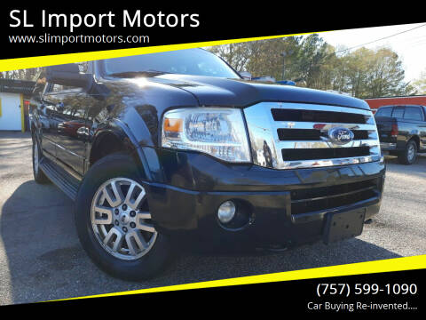 2011 Ford Expedition EL for sale at SL Import Motors in Newport News VA