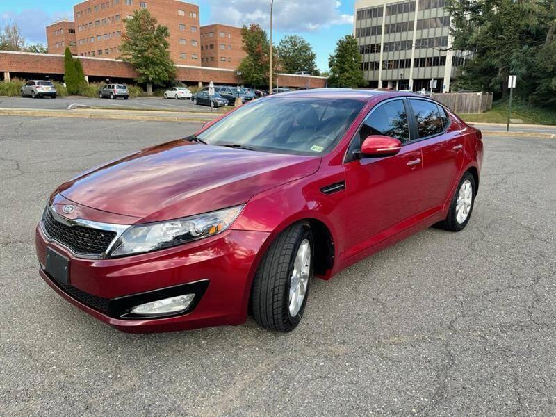 2012 Kia Optima for sale at Crown Auto Group in Falls Church VA