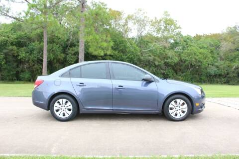 2013 Chevrolet Cruze for sale at Clear Lake Auto World in League City TX