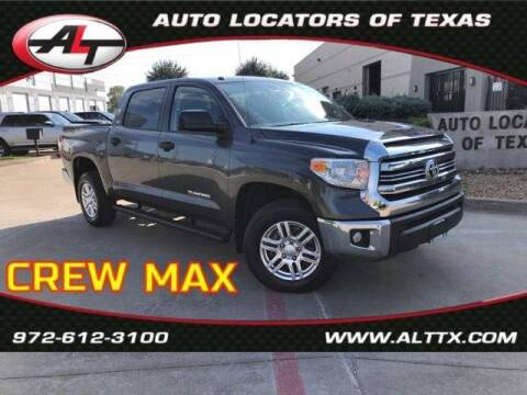 2017 Toyota Tundra for sale at AUTO LOCATORS OF TEXAS in Plano TX