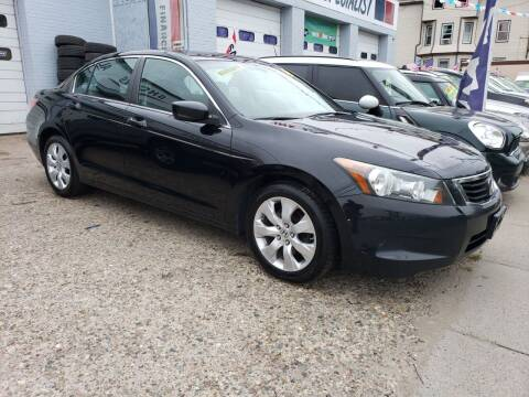 2008 Honda Accord for sale at Devaney Auto Sales & Service in East Providence RI