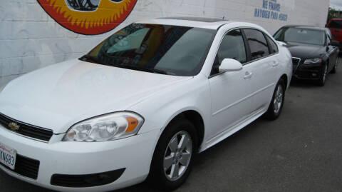 2010 Chevrolet Impala for sale at CABO MOTORS in Chula Vista CA