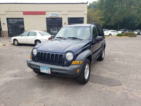 2007 Jeep Liberty for sale at Fleet Automotive LLC in Maplewood MN